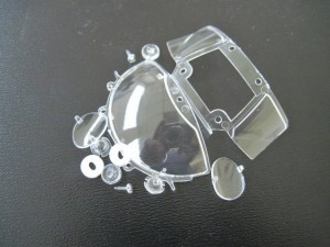 Thunderslot Glas Ersatzset Lola T70
