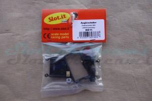 """Slot.it Umrüstset Anglewinder Offset 0,0 mm Boxer/Flat mit Zubehör => """"Set"""""""