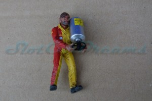 LMM Figur Michel Mechaniker mit Benzinbehälter