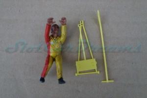 LMM Figur Damien Mechaniker mit Wagenheber