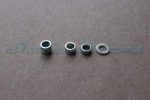 """Plafit Achsdistanzset  für 2,38 mm Achse => """"Set"""""""