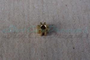 """Slot.it Motorritzel IL 5,5 mm 8 Zähne Messing => """"Stück"""""""