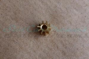 """Slot.it Motorritzel IL 5,5 mm 10 Zähne Messing => """"Stück"""""""