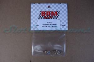 """BRM Achsdistanzset für 3 mm Achse => """"Set"""""""