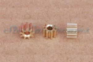 "SCD Motorritzel 5,5 mm 9 Zähne Messing HIGH QUALITY => ""Stück"""