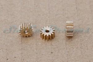 "SCD Motorritzel 8 mm 14 Zähne Messing HIGH QUALITY => ""Stück"""