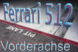 1. SCD Vorderachskit Carrera 124 #6