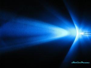 "LED 3mm Blau klar => ""Stück"""