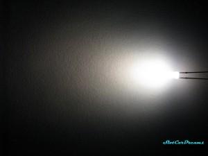 """LED 3 mm Warm-weiß diffus => """"Stück"""""""