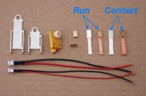 SCD Carrera D124 Leitkielhalter Kit