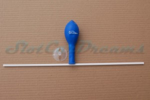 SlotCarDreams Luftballon mit Stangenhalter