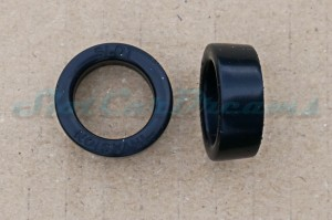 "SI 124 PU Reifen HART Flachfelge Front Kit #5 => ""Paar"""