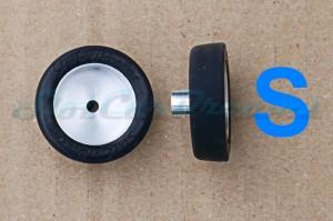 "SCD Komplettrad Carrera 124 SI Vorne SMALL => ""Paar"""