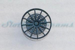 """Felgeneinsatz Mercedes SLS Schwarz 19,1 mm flach => """"Stück"""""""