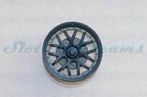 """Felgeneinsatz Porsche 997 Schwarz 19,1 mm tief => """"Stück"""""""