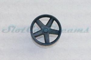 """Felgeneinsatz Porsche 917 Schwarz 16,1 mm flach => """"Stück"""""""