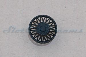 """Felgeneinsatz Capri Schwarz 16,1 mm => """"Stück"""""""