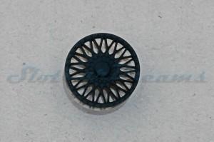 """Felgeneinsatz Capri Stegfelge Schwarz 17,1 mm => """"Stück"""""""