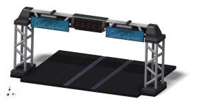 SCD 3D Druck Startampel 400er
