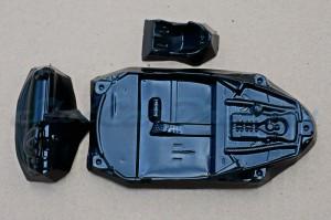 Carrera 124 Ferrari  458 Lexan Inlet + Armaturen + Fahrersitz