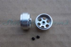 "Sloting Plus Stegfelge 16,9 x 8,5 mm für Achse 2,38 mm ALU => ""Stück"""
