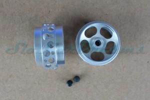 "Sloting Plus Stegfelge Urano 16,9 x 10 mm für Achse 2,38 mm Magnesium => ""Paar"""