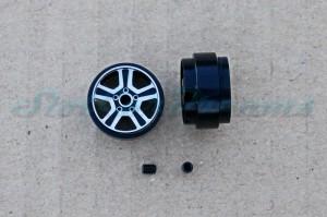 """Sloting Plus Stegfelge La Source 16,9 x 10 mm für Achse 2,38 mm ALU => """"Paar"""""""