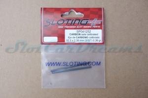 "Sloting Plus Achse 2,38 x 52,5 mm ""Carbon"" => ""Stück"""