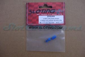 """Sloting Plus Motorritzel 5,5 mm 9 Zähne Kunststoff => """"Stück"""""""