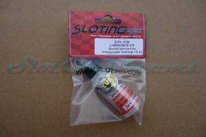 Sloting Plus LUBOIL NO-4 für die Messingbuchse bei Motoren