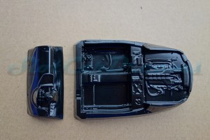 Scaleauto 124 Audi R8 Lexan Inlet + Armaturen