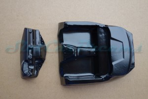 Scaleauto 124 Mercedes SLS Lexan Inlet + Armaturen