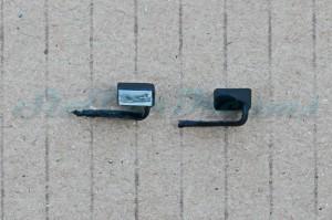 "124 Porsche 991 GT3 flexible Spiegel Schwarz => ""Paar"""