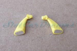 "Carrera 132 Corvette C7.R flexible Spiegel Gelb => ""Paar"""