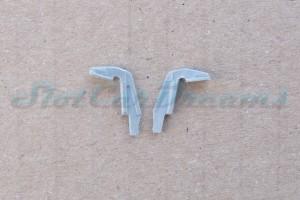 "Lamborghini Huracan GT3 flexible Heckflügelhalter Grau => ""Paar"""