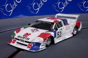 BMW M1 Sauber Würth Team 24h LM 1981 #52