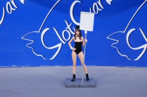 SW Grid Girl Olivia mit Tafel