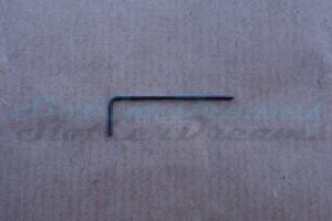 Gedore Innensechskantsteckschlüssel M2 0,9 mm
