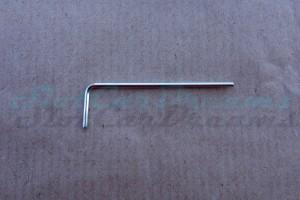 Gedore Innensechskantsteckschlüssel M2,5 1,3 mm